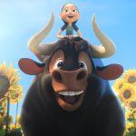 """""""Ferdinand""""; simple y bondadosa cinta animada protagonizada por un toro de tierno corazón"""